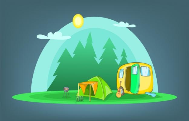 Camping à vendre en SUD Ardèche